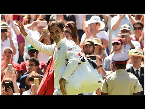 ¡Federer eliminado de Wimbledon! Anderson se impuso en infartante partido  VIDEO, RESUMEN