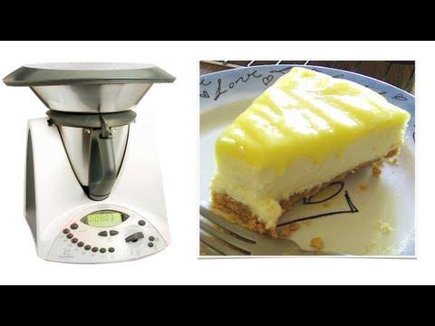 video ricetta: bimby - cheesecake con philadelphia e limone