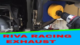 8. Yamaha 2016 VXR Riva Racing Exhaust DIY