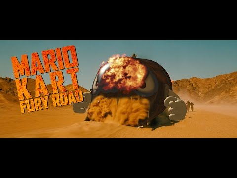 Mario Kart Fury Road Parody Trailer