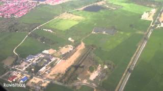 Thai Airways Landing At Chiang Mai Airport