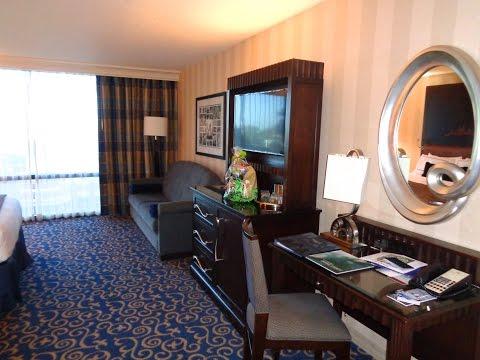Disneyland Hotel Room Tour with photo montage
