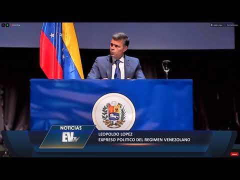 Leopoldo López: Ni en México ni en Miraflores, mi salida la articulé yo! - NoticiasEVTV 10/27/20