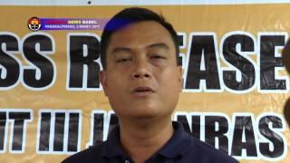 KAKEK PENJUAL TOGEL DI BANGKA BELITUNG DIRINGKUS POLISI #TRIBRATA NEWS
