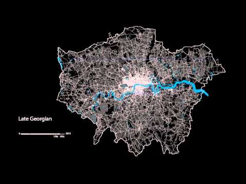 The London Evolution Animation 2 000 Years of London History Visualized on a