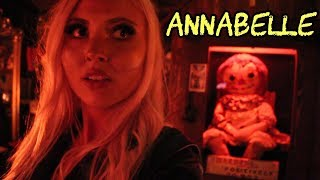 I Met The REAL ANNABELLE DOLL at The Warren Occult Museum!