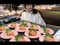 大胃王甄能吃 | 100个回转寿司,从出餐口开始打劫!
