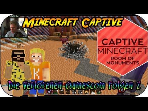 MINECRAFT CAPTIVE # 14 - Die verlorenen Gamescom Folgen 2 «» Let's Play Minecraft Captive