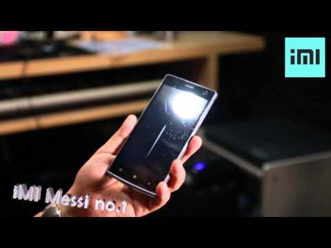 รีวิว มือถือ iMI Messi no.1 by MarcHoOSe_studio