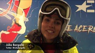 """Júlia Bargalló: """"Paso mucho frío esquiando"""""""