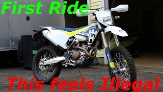 6. Husqvarna FE 501 first ride