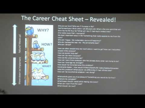The Career Cheat-Sheet