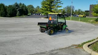 3. GovDeals: 2006 John Deere TX 4X2 Gator With Curtis Cab and H