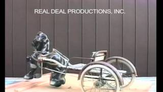 """Information on an old Horse Pedal Tractor.  From our video on pedal tractors. It includes a visual descriptive study of each pedal tractor. Check out our facebook page """"Pedal Tractors"""" or our website www.arealdealproductions.com. We carry  a full line of pedal parts and pedal tractors."""