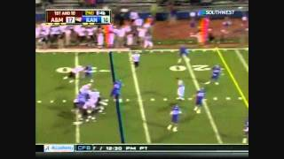 Ryan Tannehill vs Kansas 2010