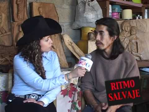 Tallado en Madera - Reportaje realizado por Melissa Velasco sobre el tallado en madera para el programa RITMO SALVAJE en el Estado de Morelos. Productor: Ing. Miguel Angel Luna ...