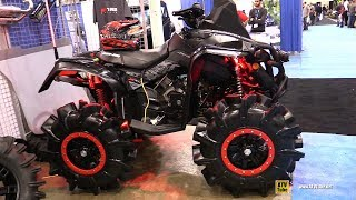 10. 2017 Can Am Renegade X Xc 1000 R The Mudrunner - Walkaround - 2017 Toronto Snowmobile ATV Show