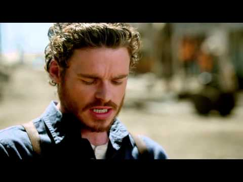 "Klondike: Richard Madden ""Bill Haskell"" On Set Interview"