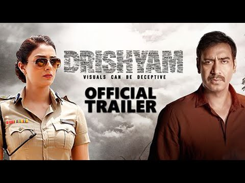 Drishyam Official Trailer Out | Ajay Devgn, Tabu,