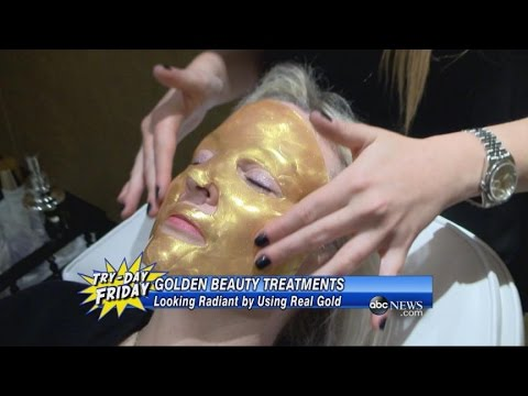 Orogold makes some of the most expensive facial treatments on