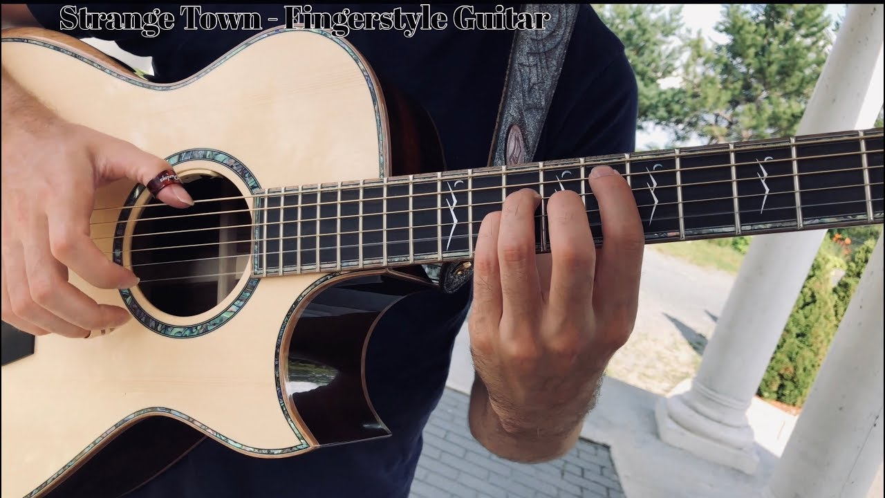 Strange Town (Original) – Fingerstyle Guitar – Jamie Dupuis (Timberline Acoustic)