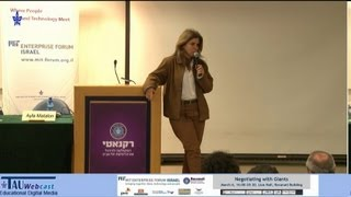 Lecturer: Irit Rapaport, Founder & CEO Gryphonet Date: 06/03/13 MIT Forum, Tel Aviv University.