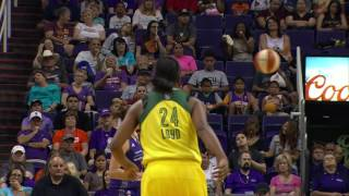 Jewell Loyd Drops Career High 30 Points in Victory Over Mercury by WNBA