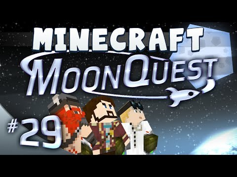 episode - Welcome to MoonQuest, where our heroes embark on an epic adventure to fire Simon into space and reach the moon! We've built our own custom minecraft mod pack...