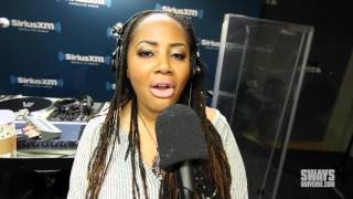 """Lalah Hathaway Performs """"Angel"""" and """"Lil Ghetto Boy"""" During Live In-Studio Concert Series,"""