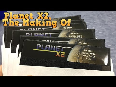 Planet X2 for the Commodore 64, The Making Of.