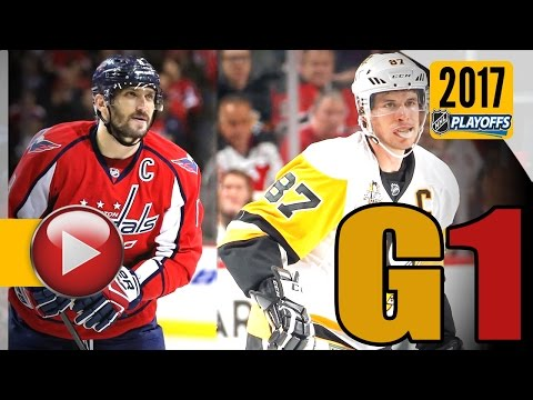 Pittsburgh Penguins vs Washington Capitals. 2017 NHL Playoffs. Round 2. Game 1. 04.27.2017 (HD)