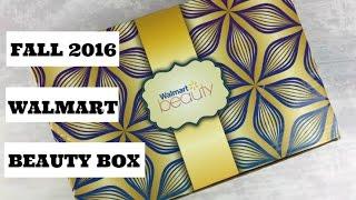 Fall 2016 Walmart Beauty Box