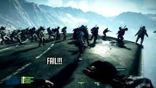 Bloopers & Behind the Scenes - Battlefield 3 EPIC 64 Man Base Jump