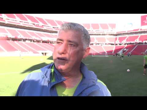 Video: Interview: Sigi Schmid on Levi's Stadium and Chad Marshall's Health