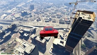 Nonton GTA 5 Fast & Furious 8 Cars Tower Jump Film Subtitle Indonesia Streaming Movie Download