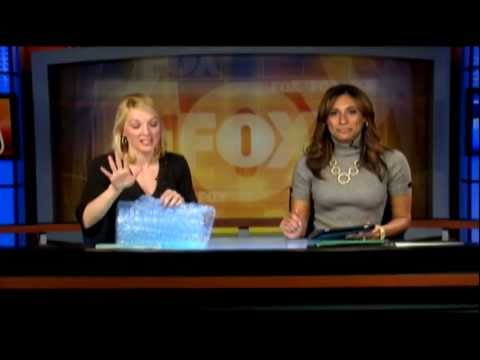 WBFF Fox45 Bubble Wrap Appreciation Day