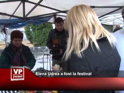 Elena Udrea a fost la festival