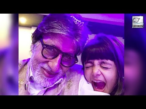 Amitabh Bachchan Celebrates New Year With Aaradhya