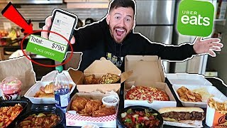 Video I Ordered Everything off the UberEats App!! (10,000 CALORIES) MP3, 3GP, MP4, WEBM, AVI, FLV April 2018