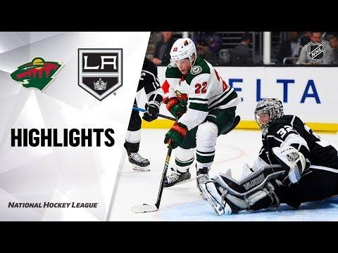 NHL Highlights  Wild  Kings 111219
