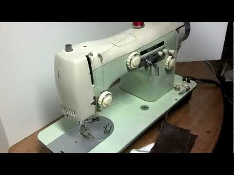 Vintage Necchi Automatica Supernova Ultra Cam Sewing Machine 35-0284966