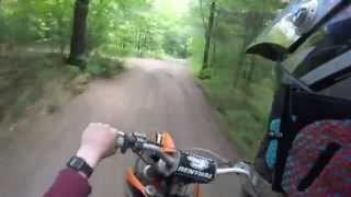 1. 2003 KTM 125SX Trail Riding!!