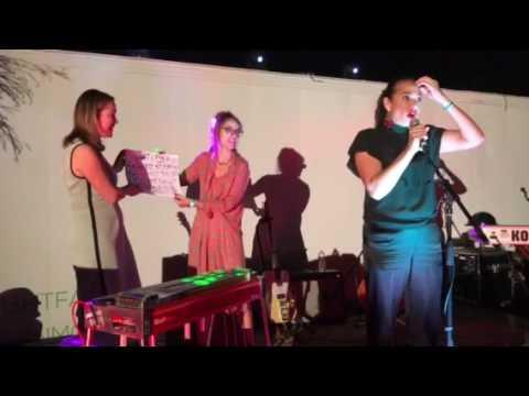 Gina Pell recites Pi Live in Las Vegas