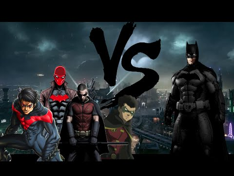 Batman vs Robins / All Animated
