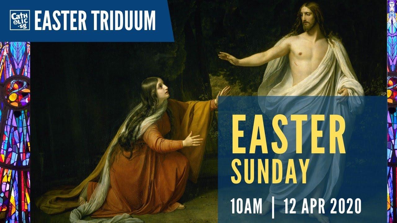 Watch Easter Sunday Mass 2020 12th April Livestream