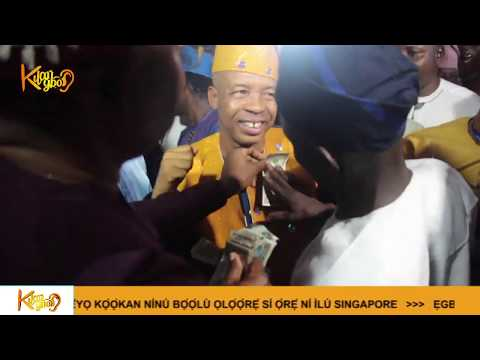 Nollywood comedian Afeez Oyetoro says final goodbye to mum as he performs the final burial rights