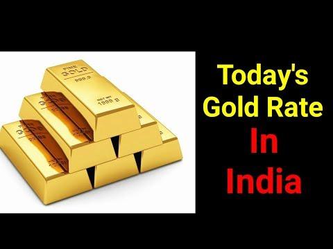 सोने में आई भारी गिरावट   जानिए आज भारत में सोने की कीमत क्या है   Тоdау's Gоld рriсе in Indiа - DomaVideo.Ru
