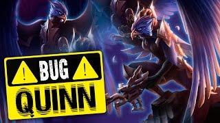 Quinn kết hợp với Tahm Kench bug bất tử Ulti