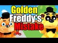 Fnaf Plush  Golden Freddy 39 S Mistake
