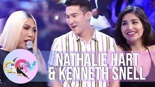 Video GGV: Nathalie Hart introduces her brother to Vice Ganda MP3, 3GP, MP4, WEBM, AVI, FLV Agustus 2018